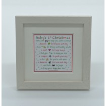 Baby's 1st Christmas – Mini Print