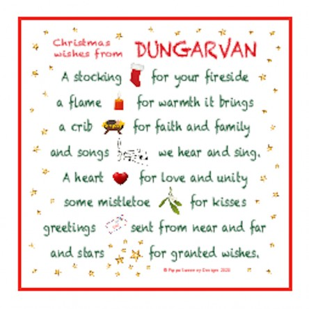 Christmas Wishes from Dungarvan – Mini Print