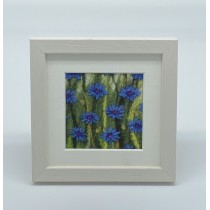 Cornflower - Felt Art Mini Print