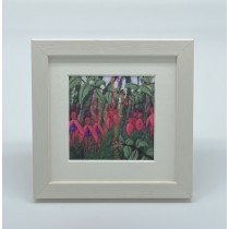 Fuchsia - Felt Art Mini Print
