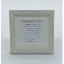 Gorgeous Girl – Mini Print