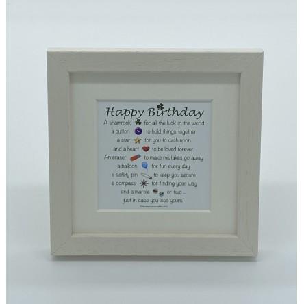 Happy Birthday – Mini Print