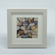 Large Pebbles - Felt Art Mini Print