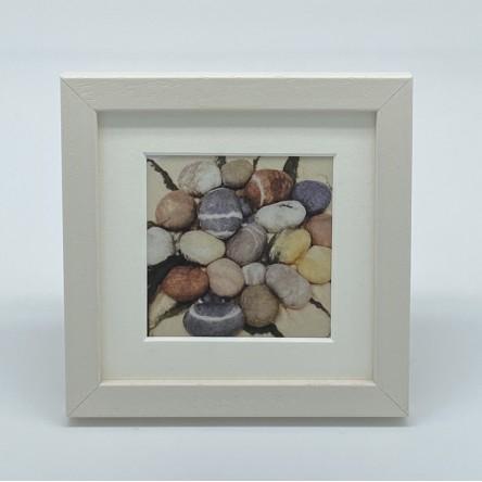 Large Pebbles - Felt Art Mini Print