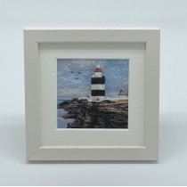 Lighthouse - Felt Art Mini Print