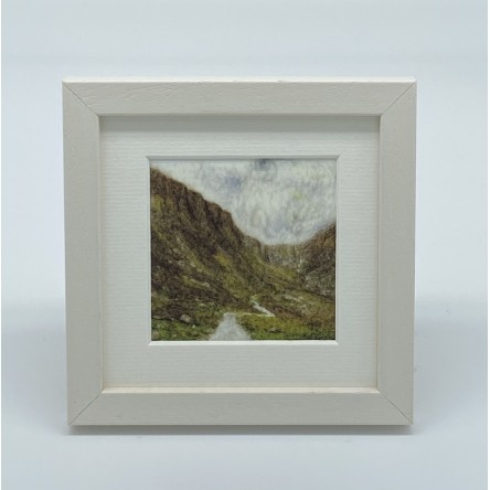 Mountain - Felt Art Mini Print