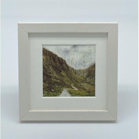 Mountain - Felt Art Mini Print