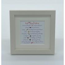 Mr and Mrs – Mini Print
