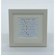 New Baby Boy – Mini Print