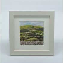 Rolling Hills - Felt Art Mini Print