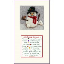Snowman and Nollaig Shona Twin Frame
