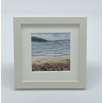 Seashore - Felt Art Mini Print