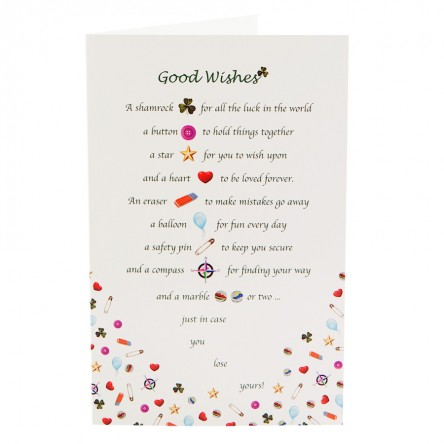 Good Wishes Card