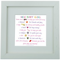 New Baby Girl – Mini Print