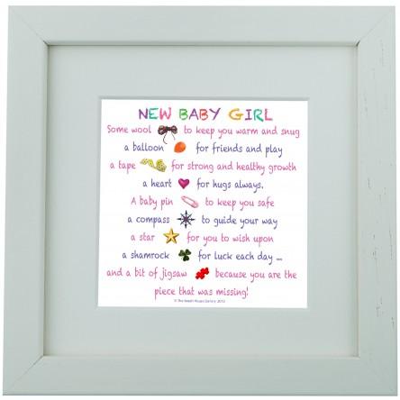 New Baby Girl – Mini Print