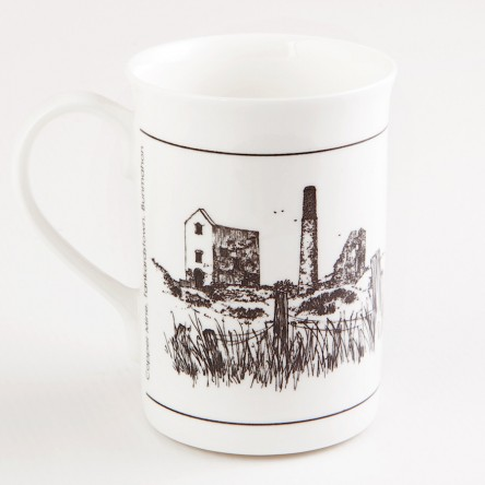 Mug - Tankardstown Copper Mine, Bonmahon, Co. Waterford, Ireland