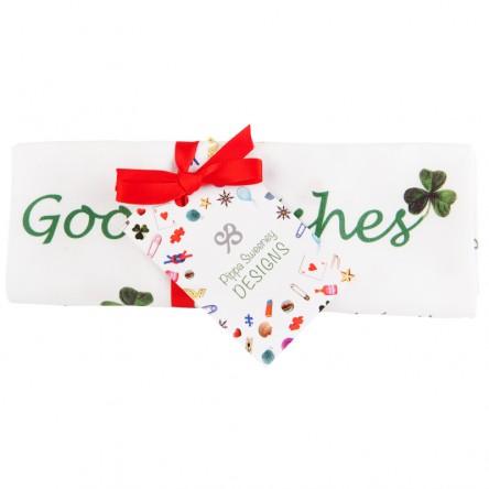 Good Wishes Tea Towel