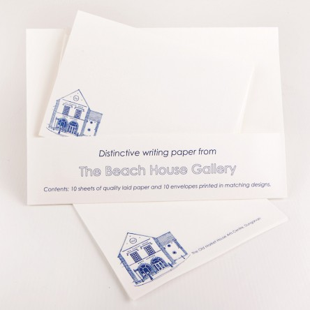 Writing Wallets - The Old Market House Arts Centre (White)