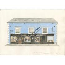 Watercolor Print - Merry's, Dungarvan, Co. Waterford by Trevor Wayman