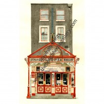 Watercolor Print - Olympia Theatre, Dublin, Ireland by Trevor Wayman