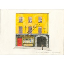 Watercolor Print - Bridie Dees, Dungarvan, Co. Waterford by Trevor Wayman
